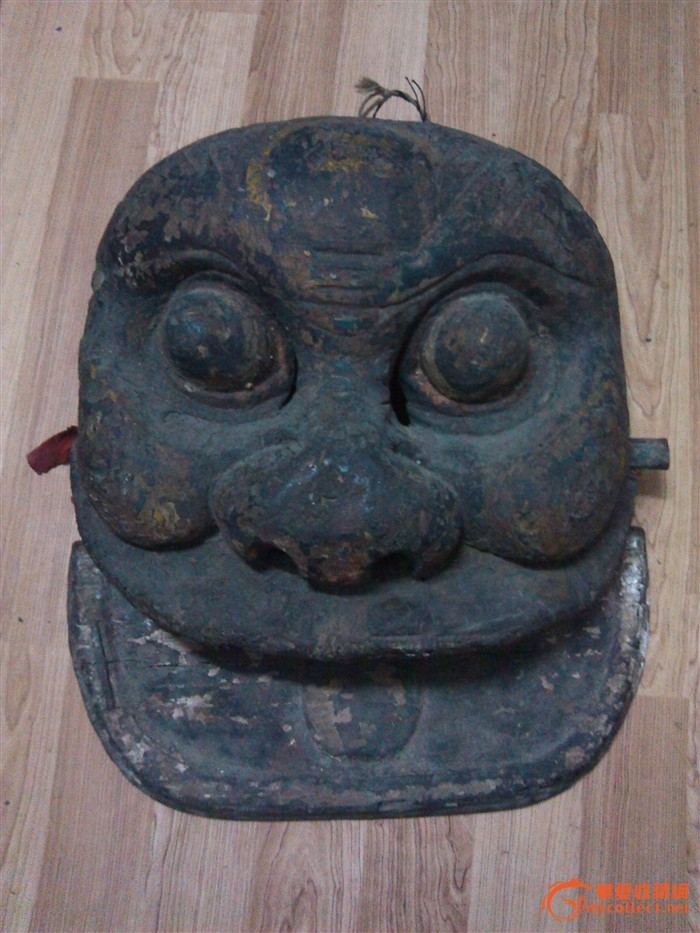 狮子头面具