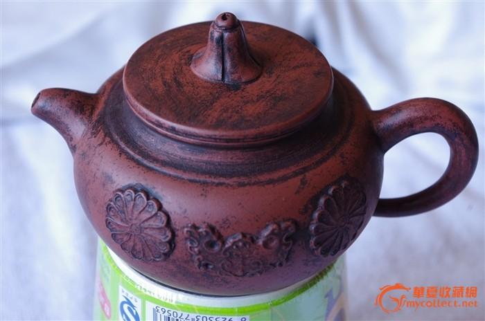 底印大清乾隆年制紫砂茶壶图片