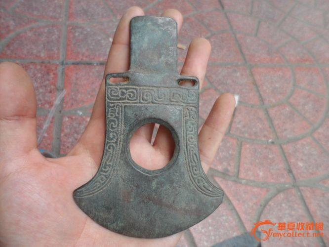 铜斧头图片手工制作
