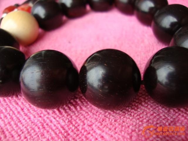 印度小叶紫檀带金星高配手串