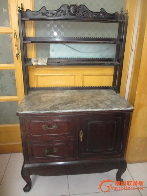 老红木茶柜