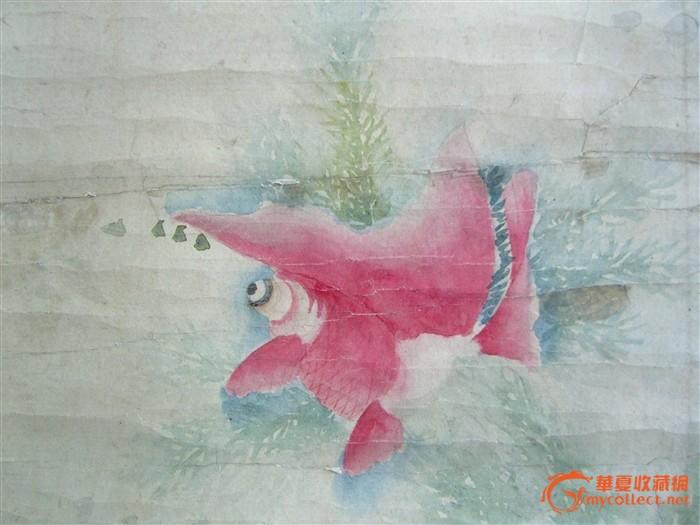 现当代名家:刘奎龄画金鱼作品欣赏