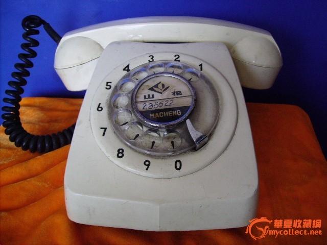 转盘电话机