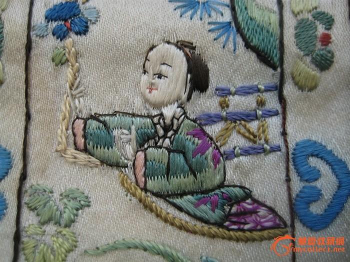 长条人物刺绣