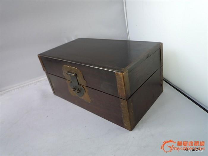 包真包老 红木首饰盒 小拜盒 红木盒子 明清家具古董木艺
