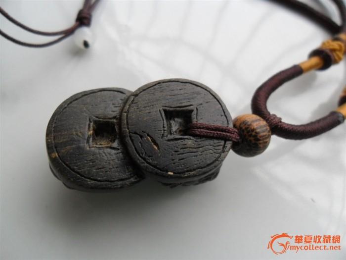 财神海南虎*沙金木雕刻招财貔貅沉香绒挂件天然图片