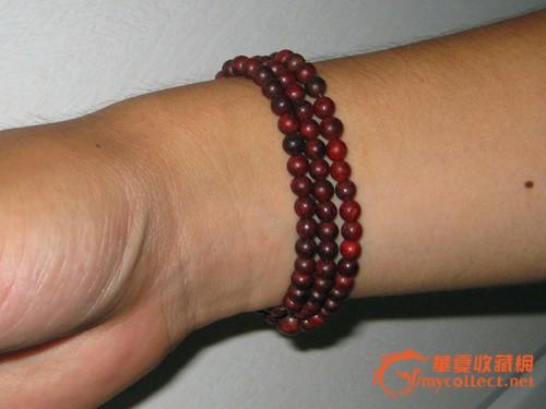 小叶紫檀0.6mm手串念珠