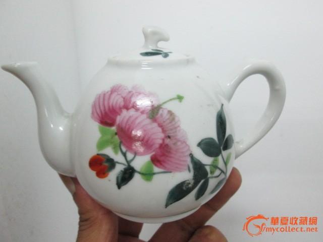手绘小茶壶