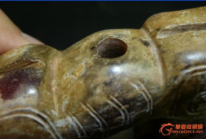 西周出土的玛瑙动物图片