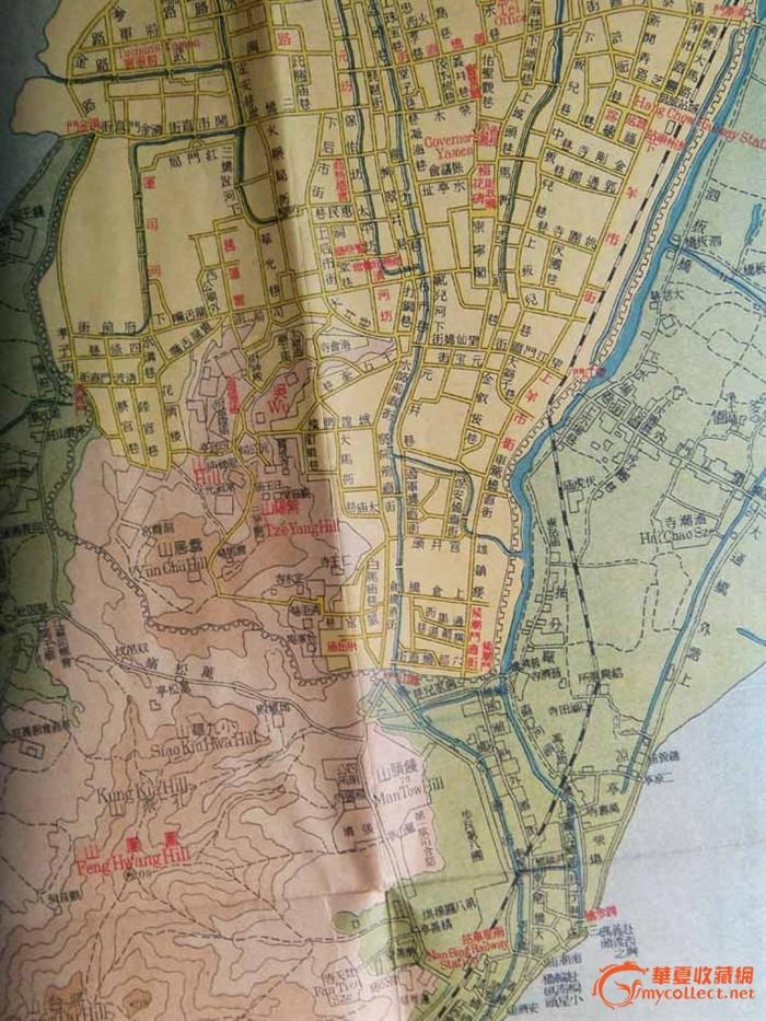 民国十二年 杭州地图