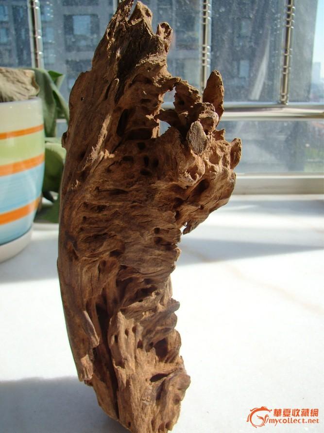 老的天然木头山子摆件有香味