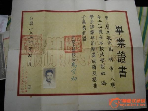 北京大学毕业证-图1