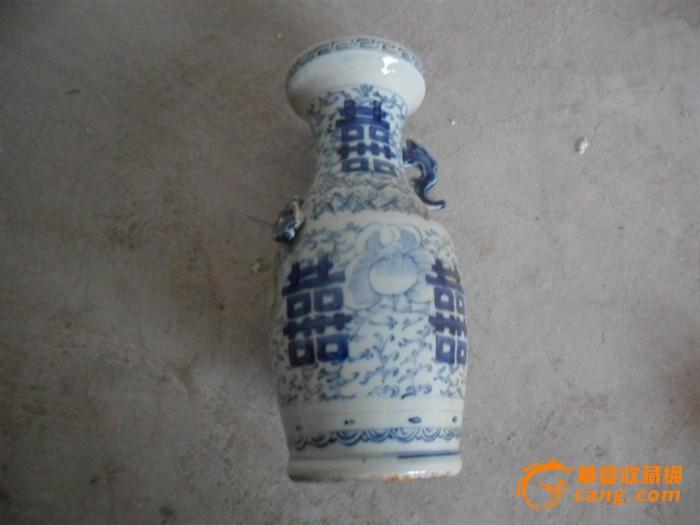 青花瓷瓶子