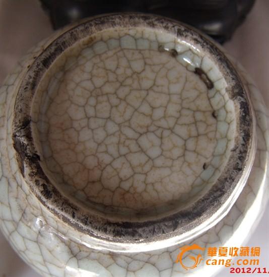清仿哥窑水盂 清仿哥窑水盂价格 清仿哥窑水盂图片 来自藏友山东粮虫