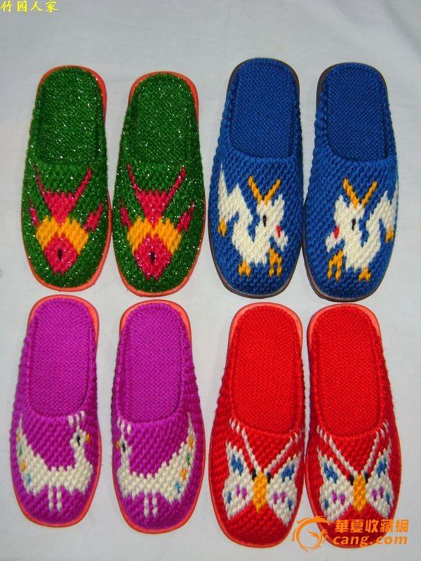 求毛线拖鞋花样步骤(图7)