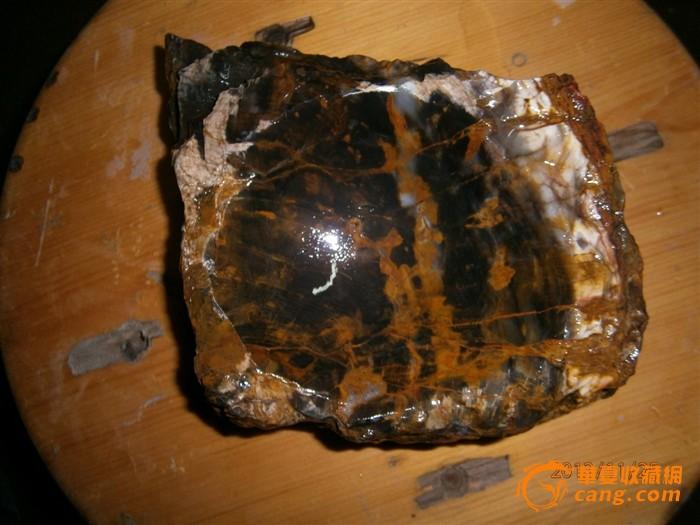木化石烟灰缸