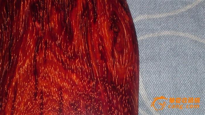 小叶紫檀鬼脸牛毛纹小木块花纹很好看