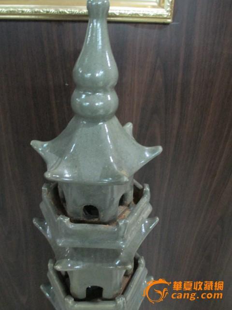 磁州窑 玲珑塔