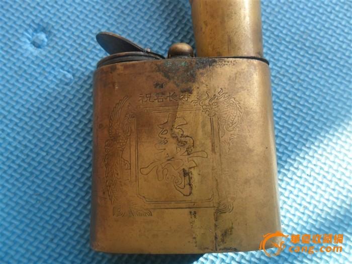 大个铜水烟袋 大个铜水烟袋价格 大个铜水烟袋图片 来自藏友太阳雨1 图片
