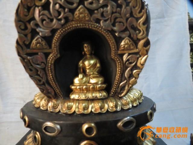 藏传铜鎏金佛塔_藏传铜鎏金佛塔价格