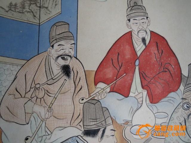 朝鲜人物画2