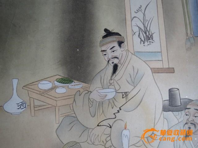 朝鲜人物画3
