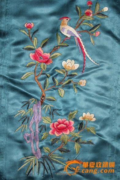 花鸟刺绣5