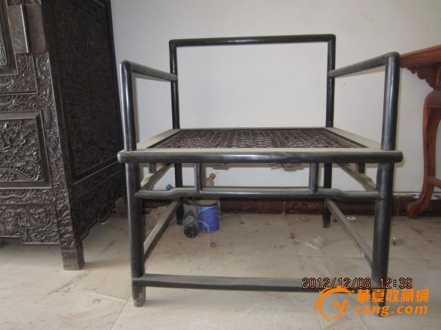 乌木大禅椅