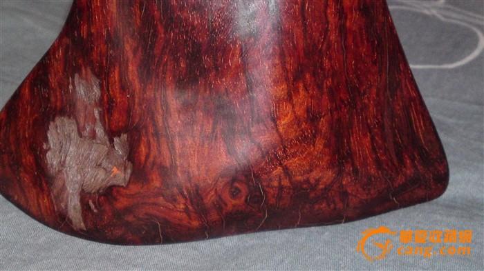 小叶紫檀极品满金星鬼脸水波纹满火焰纹木块摆件