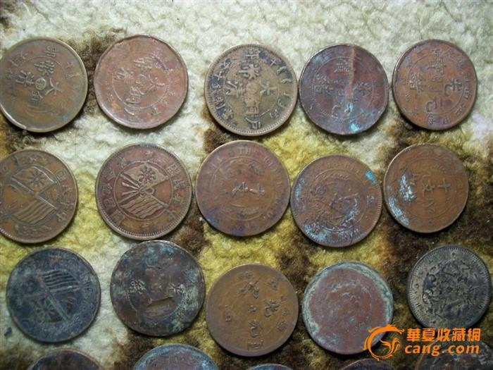 大清铜币和民国铜,康熙乾隆通宝总计70枚