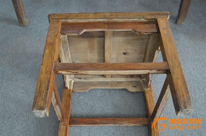 榉木大尺寸明式方凳
