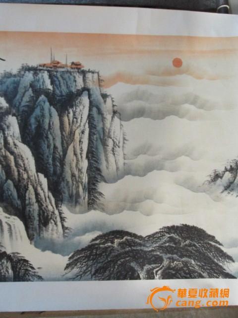 名家山水画图片