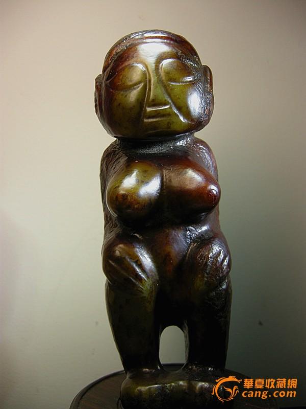 红山文化玉器---玉妇人_红山文化玉器---玉妇人