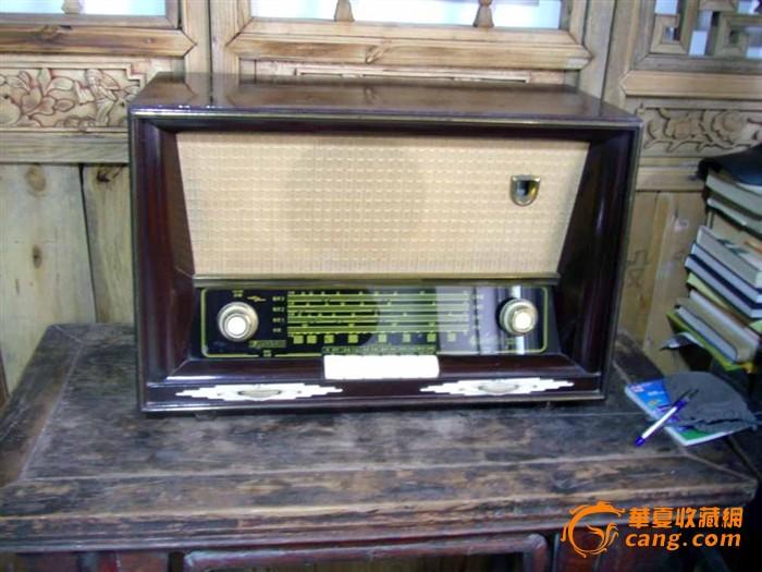 十大经典收音机-飞乐牌271型高级七灯收音机50年代出品