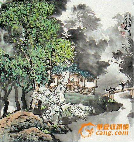 桂林美协画家黄云鸿写意山水