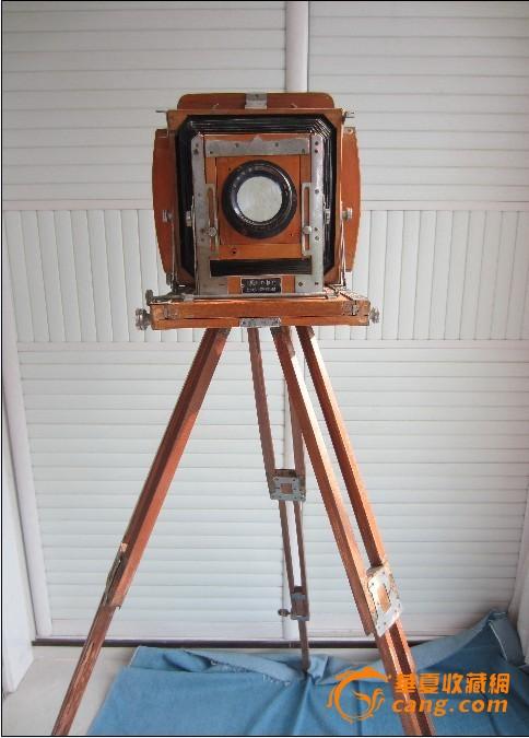 """""""沪照""""牌三角架折叠照相机"""