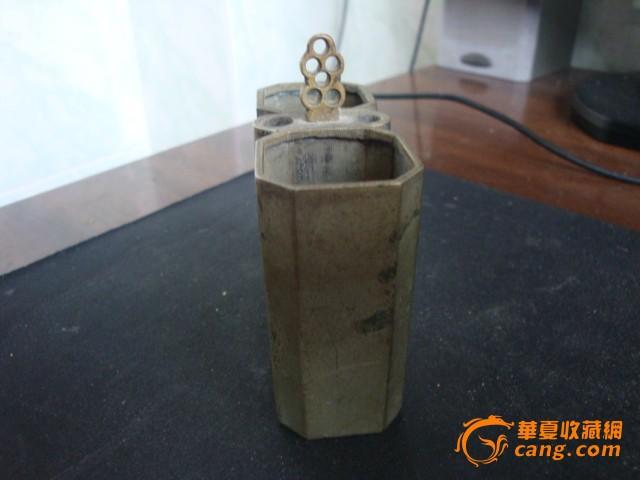 铜水烟袋底座 铜水烟袋底座价格 铜水烟袋底座图片 来自藏友沈鹏程 图片