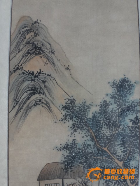 尹济弘风景人物画
