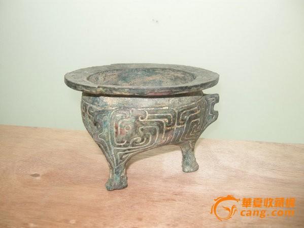 铜器纹饰铭文-三足青铜器