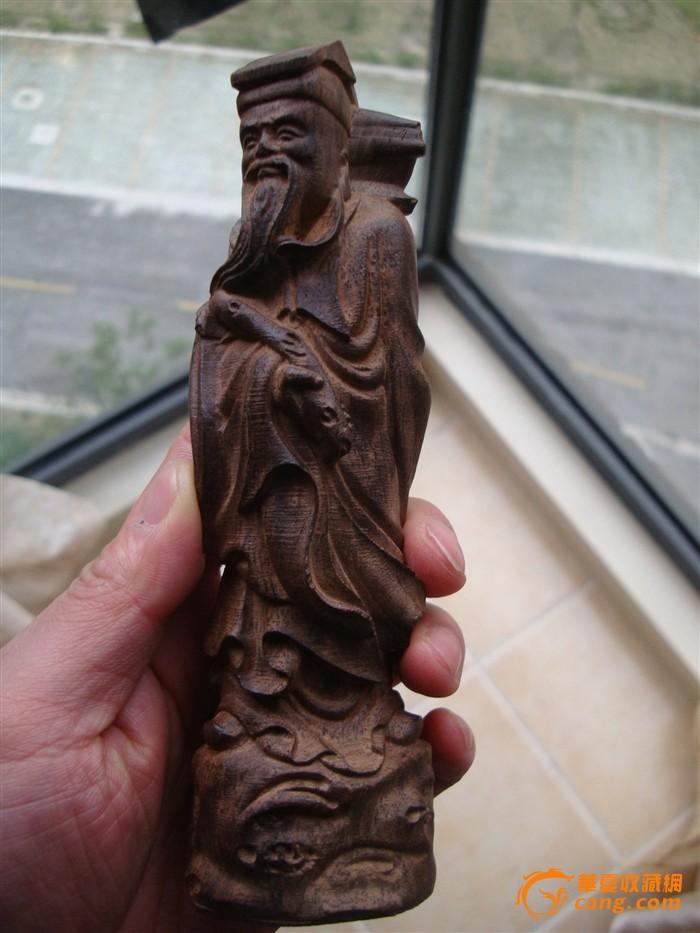 檀香木雕 八仙过海