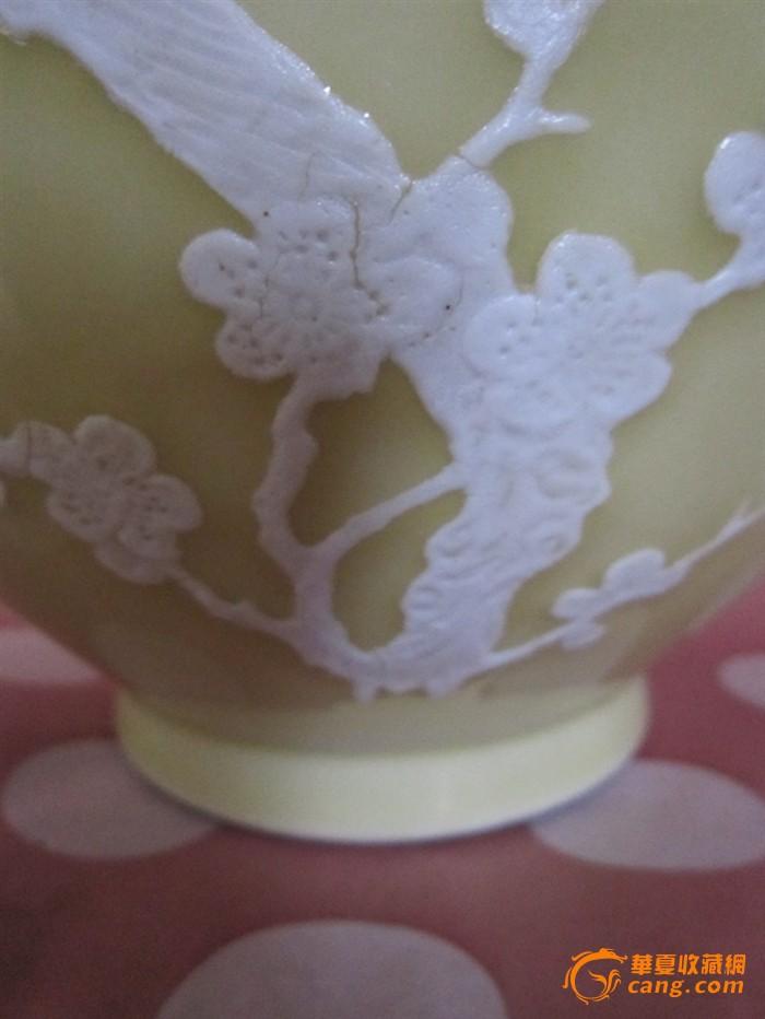 堆花手绘喜鹊登梅