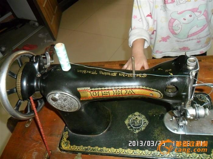 usha进口老式缝纫机