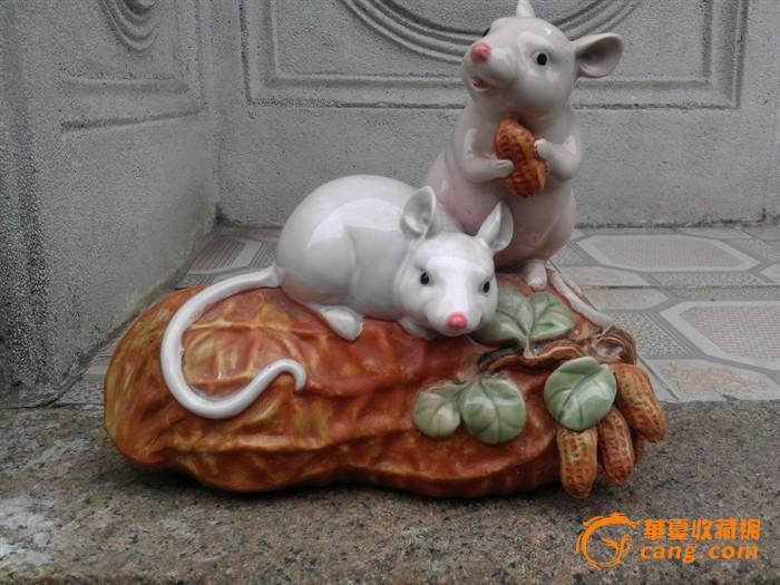 两只老鼠爱吃花生图片