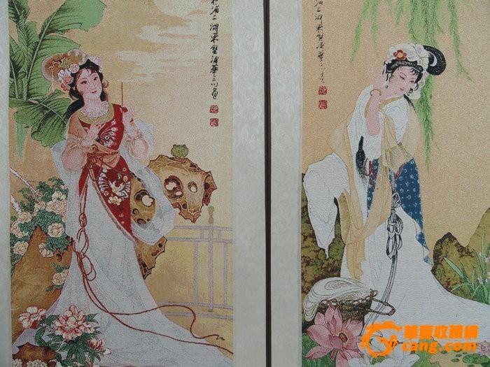 蚕丝刺绣古代四大美女 蚕丝刺绣古代四大美女