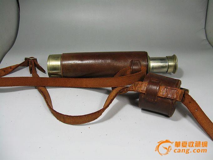 清代特大单筒望远镜一个