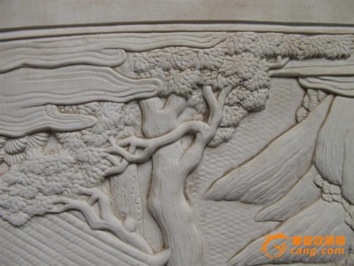 民国王炳荣素材人物瓷板