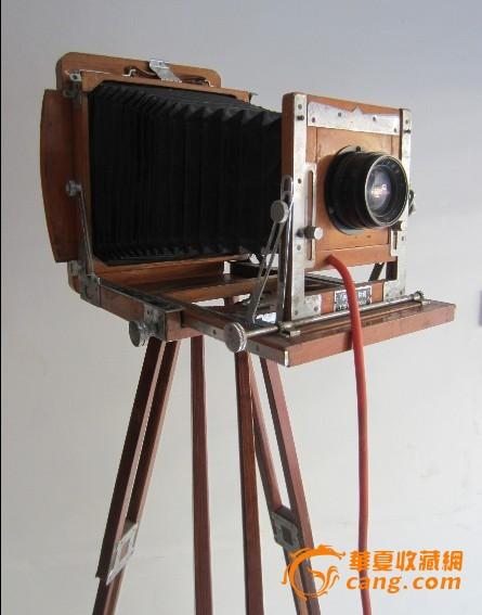 木质三角架折叠室外照相机