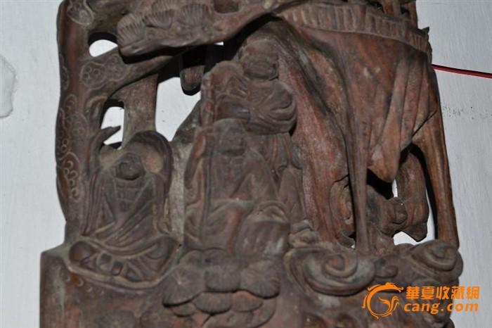光民红木18罗汉立件镂空精品雕刻