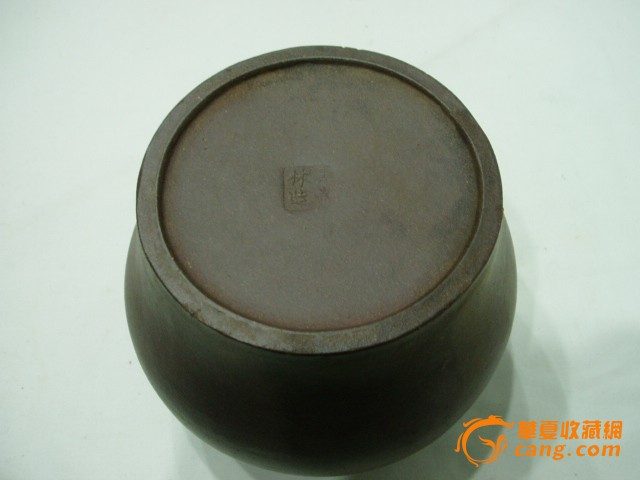 王南林作紫砂茶叶罐图片