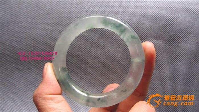 高冰玻璃种翡翠飘花手镯_高冰玻璃种翡翠飘花手镯价格